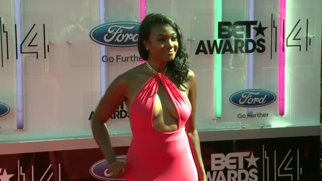 tatyana ali at the 2014 bet awards on june 29 2014 in los angeles california - bet awards stock videos and b-roll footage