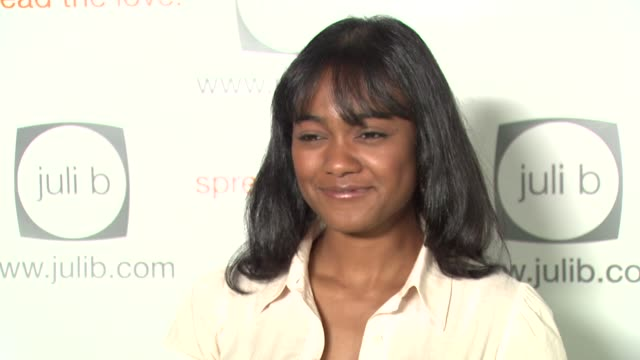 tatyana ali at the celebration for 'wicked' hosted by julif com with a special performance by dita von teese at social hollywood in hollywood... - tatyana ali stock videos & royalty-free footage