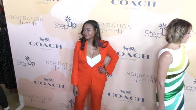 tatyana ali at the step up 14th annual inspiration awards at the beverly hilton hotel on june 02 2017 in beverly hills california - tatyana ali stock videos & royalty-free footage