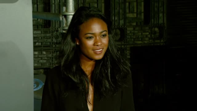 tatyana ali at the xbox 360® halo 3 sneak preview at quixote studios west in hollywood california on may 15 2007 - tatyana ali stock videos & royalty-free footage