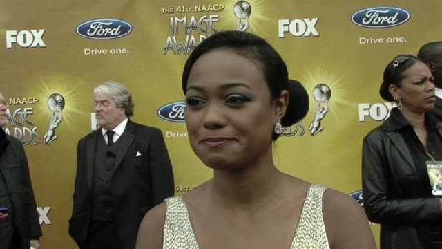 tatyana ali on being a nominee/presenter what the image awards means to her if she has any favorites in the category she is presenting and her advice... - tatyana ali stock videos & royalty-free footage