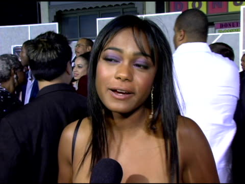 tatyana ali on her role as a girlfriend in the film the significance of this true story and on why she is particularly excited to be a part of this... - tatyana ali stock videos & royalty-free footage