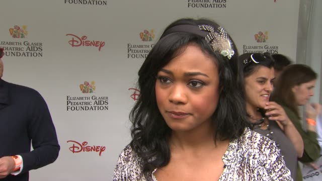 Tatyana Ali on how she feels to be at the 22nd Annual Time for Heroes Celebrity Picnic why she wanted to come and support why she comes to this event...