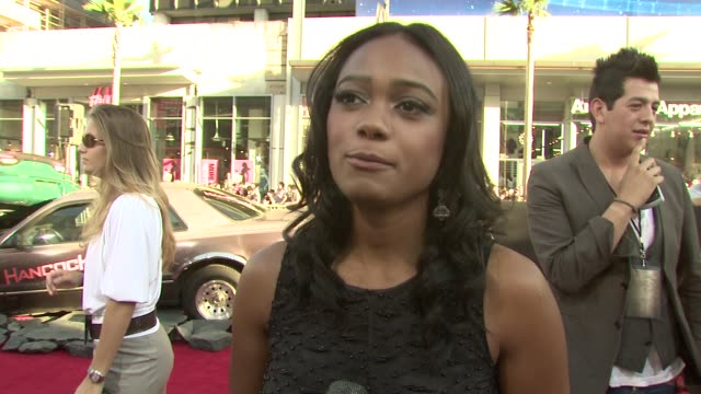 tatyana ali on what she's heard about the film from will smith why will has stood the test of time as an actor what superhero she wanted to be... - tatyana ali stock videos & royalty-free footage