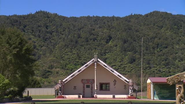 Tauarau Marae in Ruatoki Valley