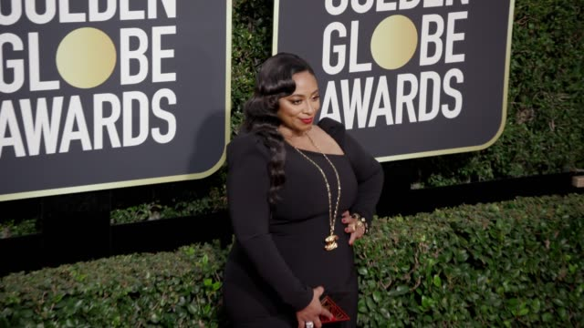 Taura Stinson at the 75th Annual Golden Globe Awards at The Beverly Hilton Hotel on January 07 2018 in Beverly Hills California