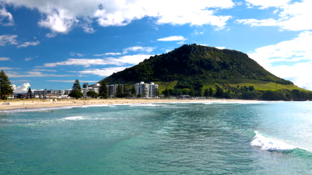 tauranga beach - bucht bay of islands neuseeland stock-videos und b-roll-filmmaterial