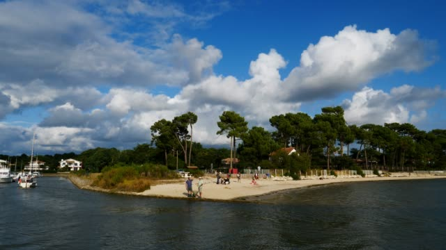 taussat, gironde,nouvelle aquitaine, france - aquitaine stock videos and b-roll footage