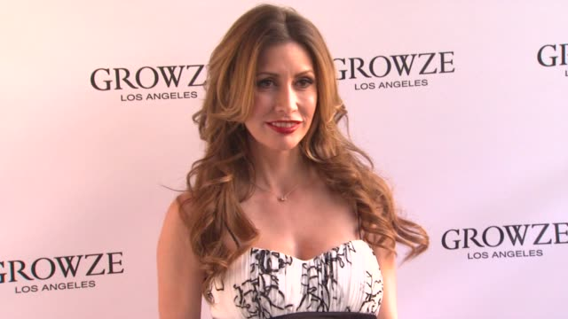 tawny amber young at growze la launch party on 3/20/12 in los angeles ca - tierfarbe stock-videos und b-roll-filmmaterial