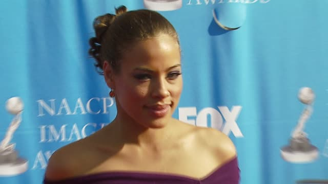 tawny cypress at the 38th naacp image awards at the shrine auditorium in los angeles california on march 2 2007 - tawny cypress stock videos & royalty-free footage