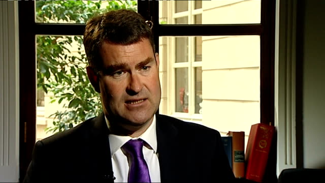 tax avoidance row / comedian jimmy carr apologises; int david gauke mp interview sot - avoidance stock videos & royalty-free footage
