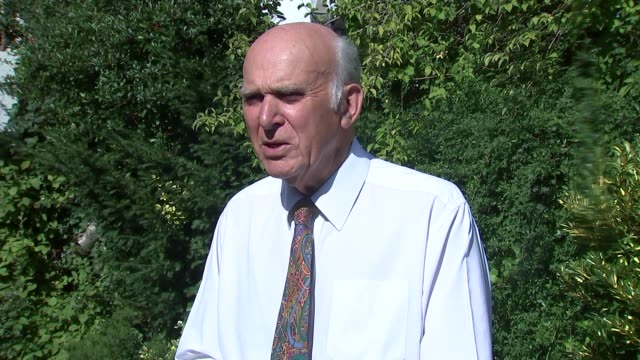 tax avoiders may be barred from receiving honours vince cable interview england london ext sir vince cable mp interview re tax avoidance and honours... - avoidance stock videos & royalty-free footage