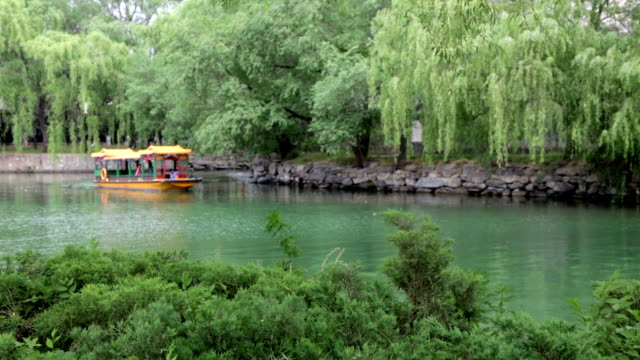 Taxi-Boot, Tempel der Sommer, Peking, China
