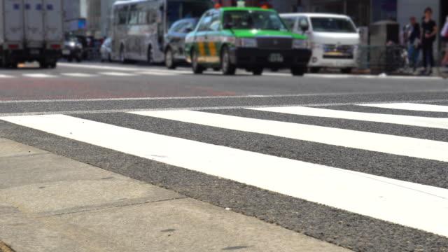 日本のタクシー - タクシー点の映像素材/bロール