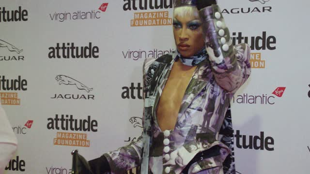 tayce attends the virgin atlantic attitude awards 2021 at the roundhouse on october 06, 2021 in london, england. - attitude stock videos & royalty-free footage
