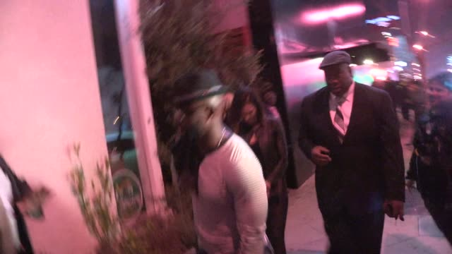 taye diggs and idina menzel at oak in west hollywood at celebrity sightings los angeles on in los angeles california - taye diggs stock videos and b-roll footage
