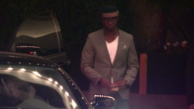 taye diggs at roosevelt in hollywood 3/7/12 - taye diggs stock videos and b-roll footage