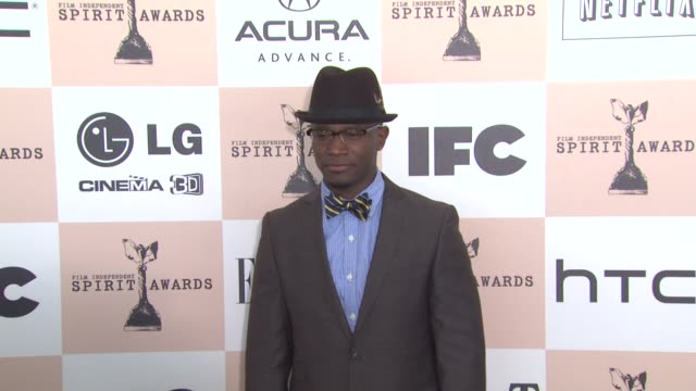 taye diggs at the 2011 independent spirit awards - arrivals part 2 at santa monica ca. - independent feature project stock videos & royalty-free footage