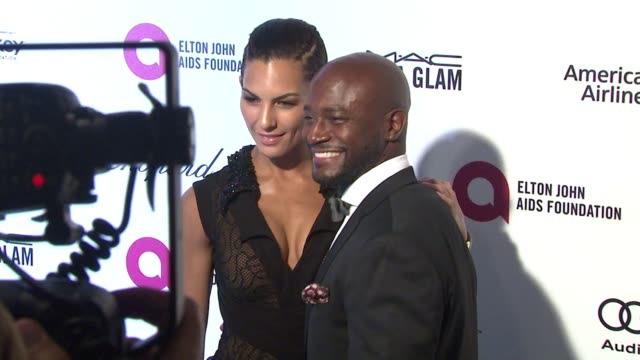 Taye Diggs at the 23rd Annual Elton John AIDS Foundation Academy Awards Viewing Party Sponsored By Chopard Neuro Drinks And Wells Fargo on February...