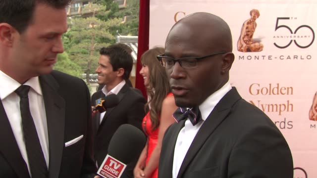Taye Diggs at the 50th Monte Carlo TV Festival Closing Ceremony at MonteCarlo
