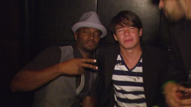 taye diggs at the the playboy club vip grand opening at the palms hotel and casino at the palms hotel casino in las vegas nevada on october 7 2006 - taye diggs stock videos and b-roll footage
