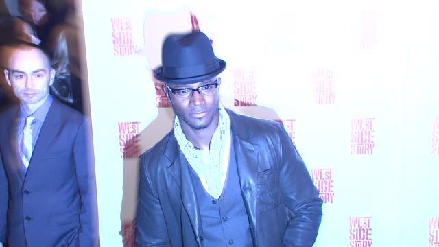 Taye Diggs at the 'West Side Story' Broadway Opening Night at New York NY