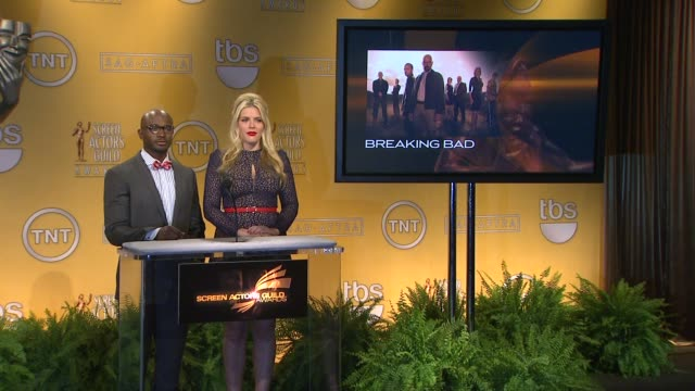 Taye Diggs Busy Philipps announce the 19th Annual Screen Actors Guild Award Nominations Taye Diggs Busy Philipps announce the 19th Annua at Pacific...