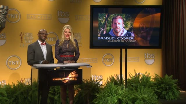 taye diggs busy philipps announce the 19th annual screen actors guild award nominations taye diggs busy philipps announce the 19th annua at pacific... - pacific design center stock videos and b-roll footage