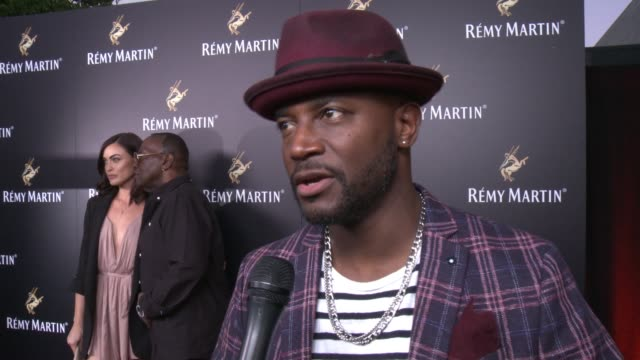 taye diggs on his projects at rémy martin hosts a special evening with jeremy renner and fetty wap celebrating the exceptional in los angeles, ca... - wap stock videos & royalty-free footage