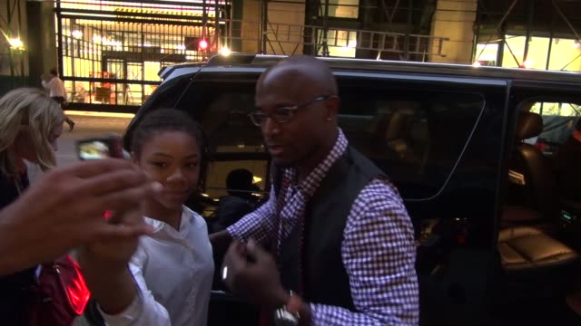 Taye Diggs Shane W Evans leaving Books of Books of Wonder in New York 09/28/11