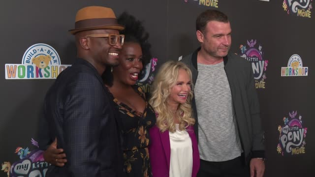 Taye Diggs Uzo Aduba Kristin Chenoweth and Liev Schreiber at Lionsgate Presents The New York Special Screening Of My Little Pony at AMC Lincoln...
