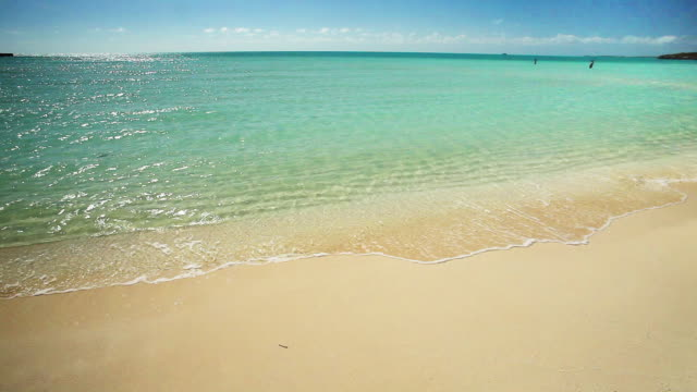 taylor beach surf, turks and caicos - provo stock videos and b-roll footage