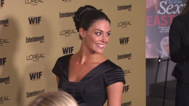 taylor cole at the entertainment weekly and women in film pre-emmy party at west hollywood ca. - pre emmy party stock videos & royalty-free footage