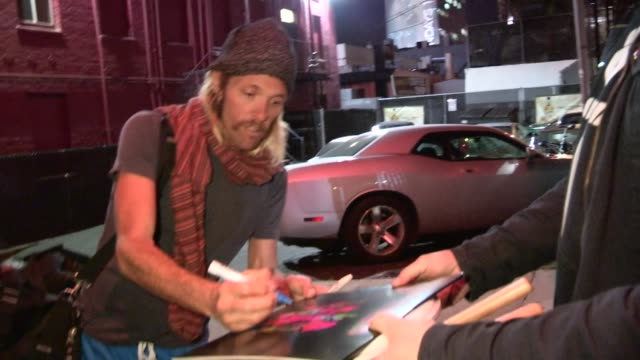 Taylor Hawkins on Dave Grohl and new ideas for Album at Whisky a Go Go at Celebrity Sightings in Los Angeles Taylor Hawkins on Dave Grohl and new...