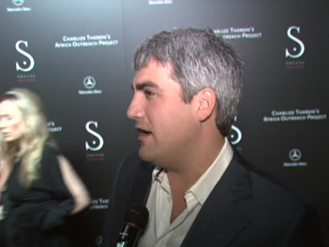 taylor hicks on coming out to support theron and her project, on possibly bidding on a piece of therons clothing. at the charlize theron to host... - taylor hicks stock videos & royalty-free footage