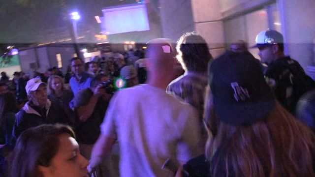 Taylor Kitsch greets fans at the LA Kings vs NY Rangers Game 5 Stanley Cup Finals at the Staples Center in Los Angeles Celebrity Sightings in Los...