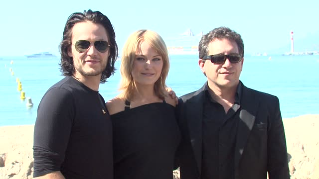 Taylor Kitsch Malin Akerman Stephen Silver at the Cannes Film Festival 2009 Bang Bang Club Press Event at Cannes