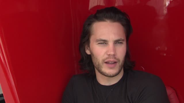 Taylor Kitsch on being at the Cannes Film Festival at the Cannes Film Festival 2009 Bang Bang Club Press Event at Cannes