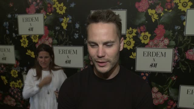 INTERVIEW Taylor Kitsch on why he wanted to support the Erderm x HM collaboration what he's expecting from the collection and talks about his Erderm...