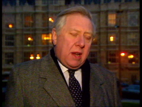 no football id cards taylor report no football id cards roy hattersley mp interview sot sir george young interview sot glen kirton interview sot... - sir george young politician stock videos and b-roll footage