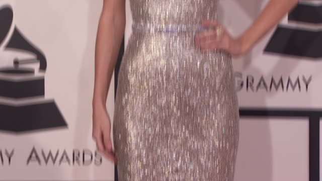taylor swift at 56th annual grammy awards arrivals at staples center on in los angeles california - staples center video stock e b–roll