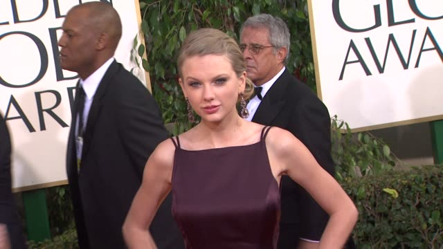 Taylor Swift at 70th Annual Golden Globe Awards Arrivals on 1/13/13 in Los Angeles CA