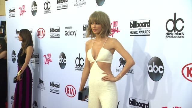 taylor swift at mgm grand on may 17 2015 in las vegas nevada - 2015 stock videos & royalty-free footage