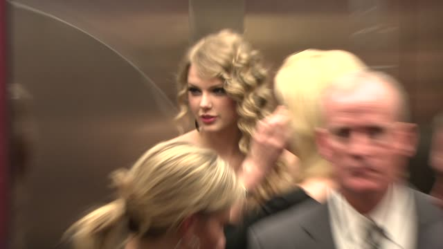 taylor swift at the 2010 time 100 gala at new york ny - gala stock videos & royalty-free footage