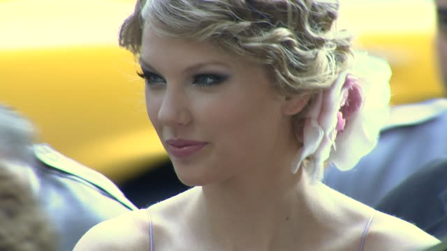 taylor swift at the songwriters hall of fame 2010 annual awards gala at new york ny - hall of fame stock videos and b-roll footage
