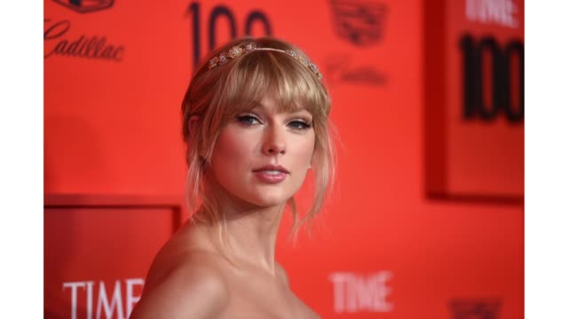taylor swift attends the 2019 time 100 gala at frederick p. rose hall, jazz at lincoln center on april 23, 2019 in new york city. - 2019 stock videos & royalty-free footage