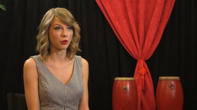 INTERVIEW Taylor Swift Backstage On The Red Tour Asia 2014 EXCLUSIVE on May 29 2014 in Shanghai China