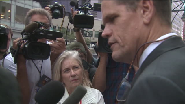 KDVR Taylor Swift's lawyer Douglas Baldridge spoke to the media on Aug 11 2017 after the judge in the Swift groping trial released the pop star from...