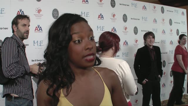 Tayna Chisolm on supporting the foundation how he and his family coped George Lopez's humor Samuel L Jackson and LaTanya Richardson's honor and...