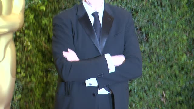 tbone burnett at academy of motion picture arts and sciences' governors awards in hollywood ca on - academy of motion picture arts and sciences stock videos & royalty-free footage